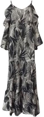 Stella Forest Black Cotton Dress for Women
