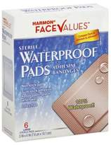 Harmon® Face ValuesTM 6 Count Waterproof Adhesive Pads