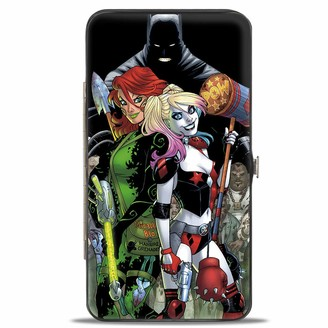 Buckle Down Buckle-Down Buckle-Down Hinge Wallet - Harley Quinn Poison Ivy Accessory