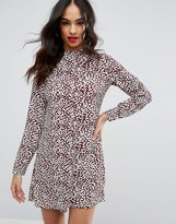 PrettyLittleThing Animal Print Shift Dress
