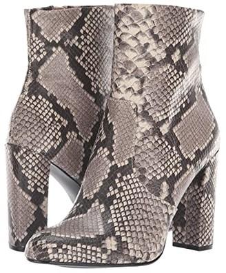 Steve Madden Editor Dress Bootie (Natural Snake) Women's Shoes