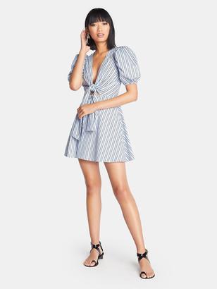 Choosy Poolside Puff Sleeve Mini Dress