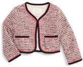 Kate Spade Toddler Girl's Tweed Jacket