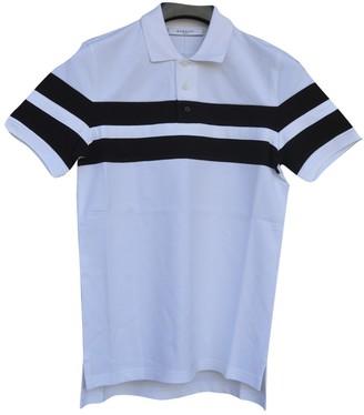 Givenchy White Cotton Polo shirts