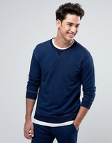 Benetton Sweatshirt in Washed Indigo