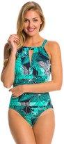 Penbrooke Dot Petals High Neck One Piece Swimsuit 8136157