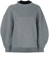 Enfold Double Neck Wool Sweater