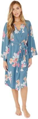 Plum Pretty Sugar Long-Sleeve Midi Robe