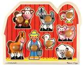 Melissa & Doug Kids Toy, Large Farm Jumbo Knob Puzzle