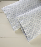 L.L. Bean Premium Supima Flannel Pillowcases, Print Set of Two