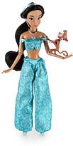Disney Jasmine Classic Doll with Abu Figure - 12''