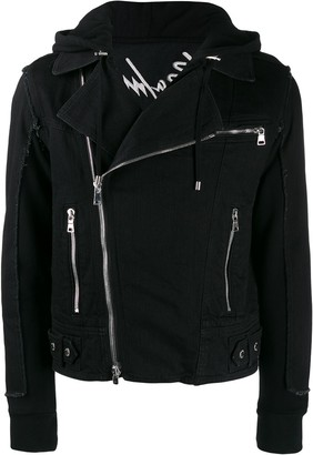 Balmain Off-Centre Front Zipped Jacket