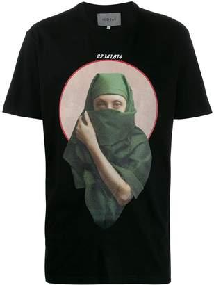 Icosae Lady print T-shirt