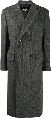 Junya Watanabe Herringbone Oversized Coat