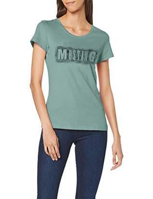 Mustang Women's Alexia C Print T-Shirt,8 (Size:)