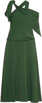 Rosie Assoulin Sling one-shoulder crepe midi dress