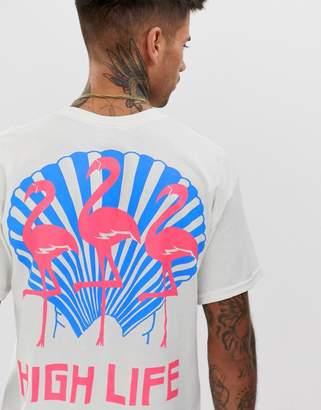 New Love Club high life back print t-shirt