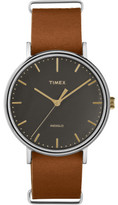Timex Fairfield Brown Leather 41mm