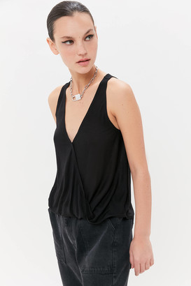 Urban Outfitters Kelly Plunging Surplice Tank Top