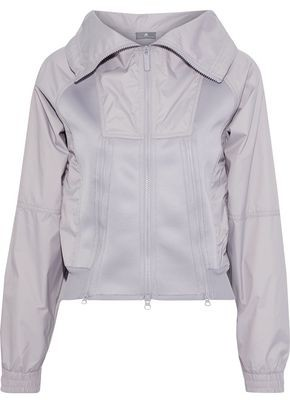 adidas by Stella McCartney Train Perforated Neoprene-paneled Shell Track Jacket