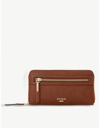 Dune Kelle faux-leather purse