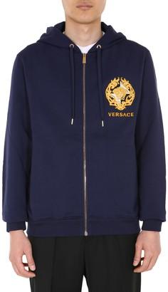 Versace Sweatshirt With Zip