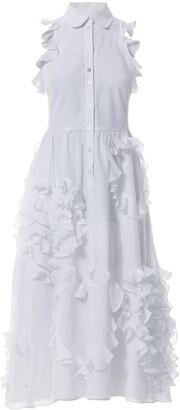 Batiste Talented Ruffled Hearts A Line Dress
