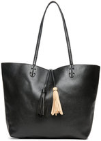 Imoshion Black & Tan Bag-In-Bag Reversible Tote