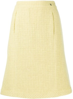 Chanel Pre Owned 2006 A-line knee-length skirt