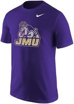 Nike Men's Purple James Madison Dukes Big Logo T-Shirt