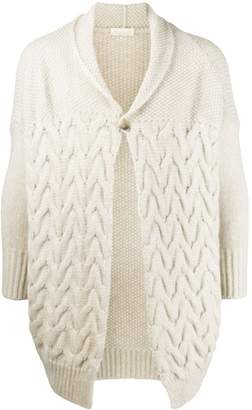 Ma Ry Ya Cable Knit Cardigan