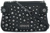 Armani Jeans studded logo cross-body bag