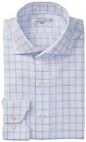 Lorenzo Uomo Twill Trim Fit No Wrinkle Dress Shirt