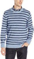 Nautica Men's Snow Cotton Stripe Sweater