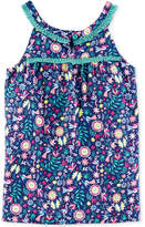 Carter's Fringe-Trim Floral-Print Top, Little & Big Girls