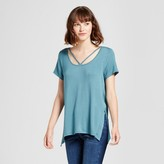 Mossimo Women's Side-Slit T-Shirt
