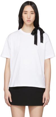 RED Valentino White Ballet T-Shirt