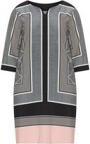 Junarose Plus Size Silky border print tunic