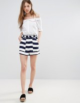 Vero Moda Striped Shorts