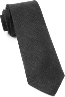 BHLDN Festival Textured Solid Black Tie