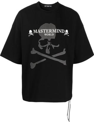 Mastermind Japan Skull And Cross Bones Logo T-Shirt