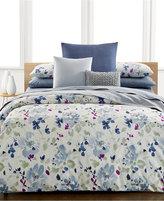Calvin Klein Watercolor Peonies King Comforter