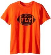 Life is Good Let It Fly Football CrusherTM Tee (Little Kids/Big Kids)