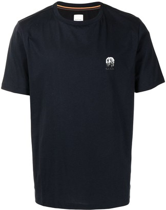Paul Smith logo-embroidered T-shirt