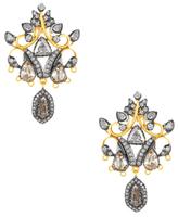 Amrapali Gold, Silver & Diamond Earrings