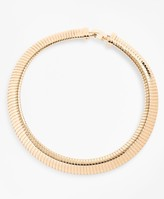 Brooks Brothers Gold-Plated Omega Chain Collar Necklace