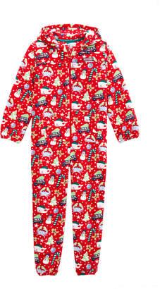 Vineyard Vines Kids Fleece Hooded One-Piece Pajamas