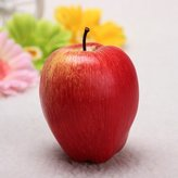 Waterwood Lifelike Decorative Plastic Artificial Fruit Plastic Food Fake Fruit Home Decor