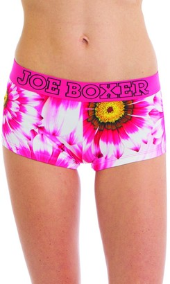 Joe Boxer Women's Sunflower Boy Short Underwear