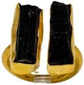 Mapleton Drive Double Black Tourmaline Ring